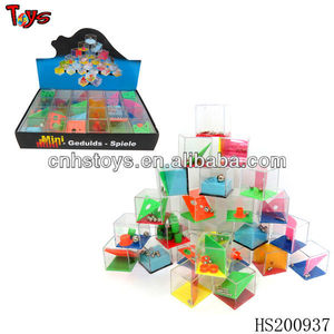 Funny maze plastic puzzle magic cube