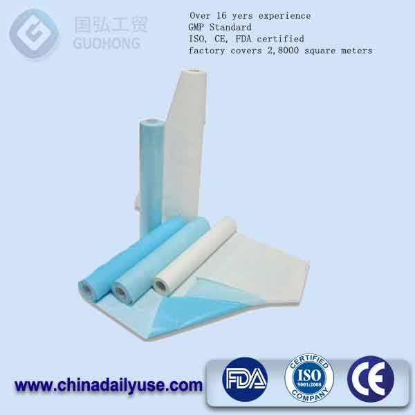wrapping air filter examination bed paper roll rizla rolling paper