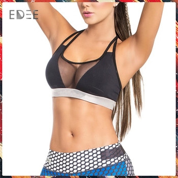 e61220cc0cb54 Factory OEM Crop Top Women s Sexy High Quality Fitness perfect supporting  Sports Bra