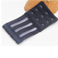 High Quality Stretchy Bra Extender 3*3 Extended Buckle for Bra Accessories