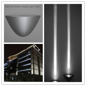 Best Price Aluminum IP66 Narrow Beam Angle Long Distance Led Flood Light For Outdoor Wall