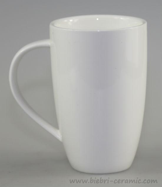 Pure White Ceramic Fine Bone China Porcelain Coffee And Tea Mugs Cups