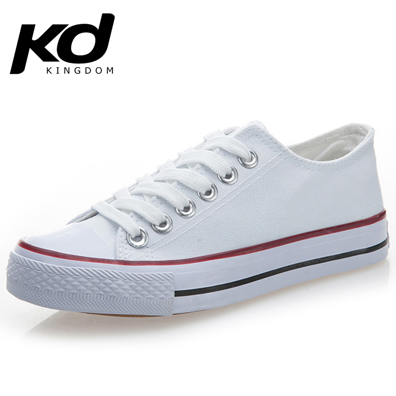 hot sale online d8b3a 18324 Hot Sale Canvas Shoes Fashion Sneakers for Women or Men white red black  Thick Soled Sneakers wedge platform huaraches channel
