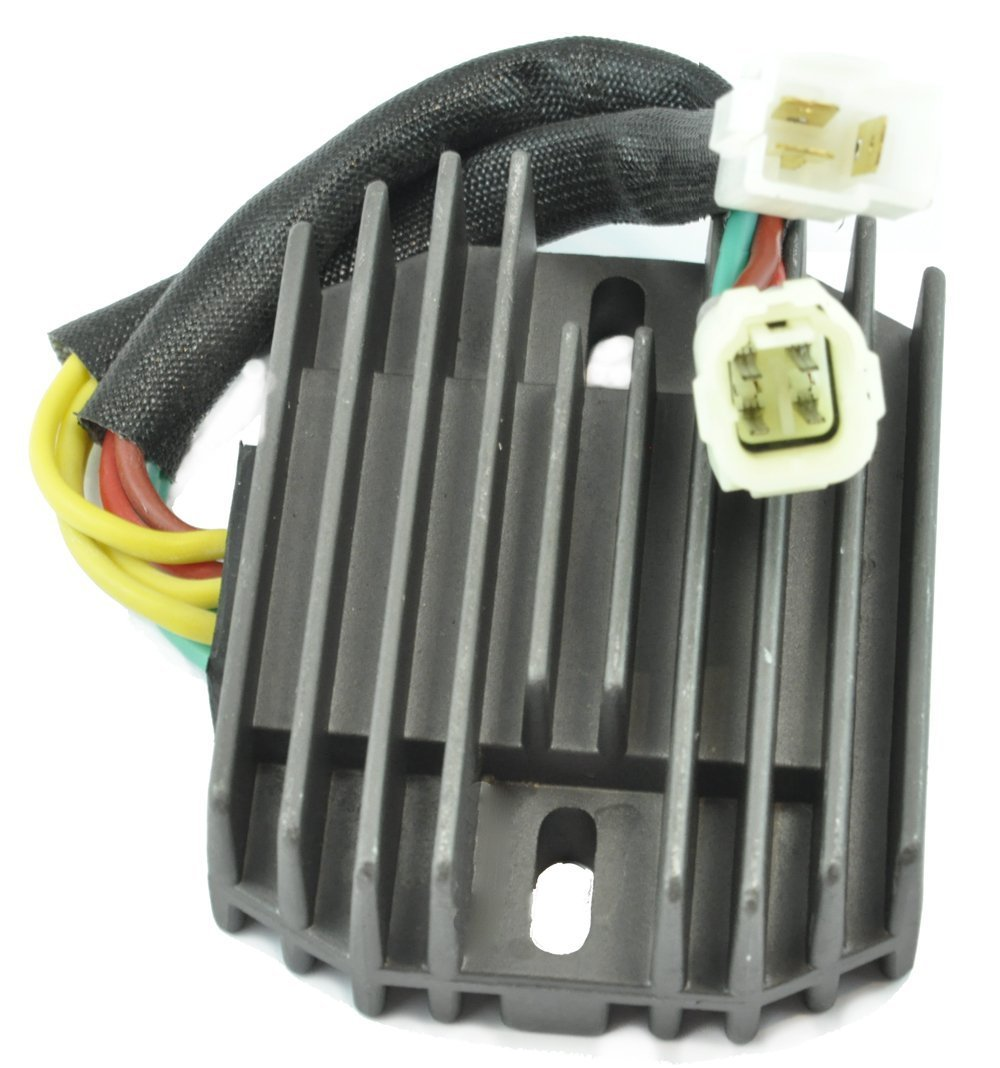 Voltage Regulator Rectifier For Arctic Cat 2001-2009 375 / 400 / 500 / TRV 500 Suzuki 2003-2008 SV 1000 / 650 VStrom 650 OEM Repl.# 32800-16G00 32800-16G01 32800-16G02 3402-682 3530-028 3530-059