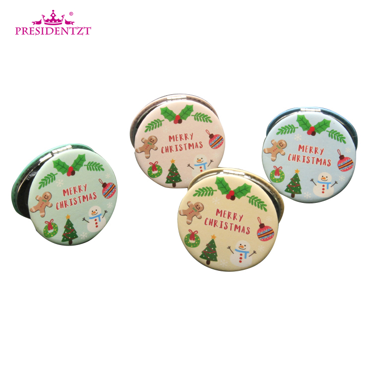 Wholesale Wedding Gift Portable Pocket Compact Cosmetic Mirror