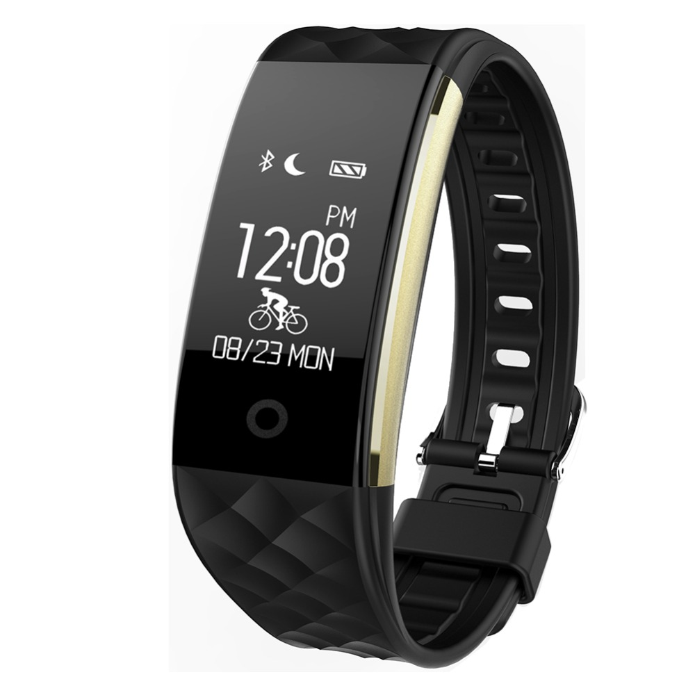 wholesale ce rohs smart bracelet S2, waterproof heart rate monitor fitness tracker smart wristband S2