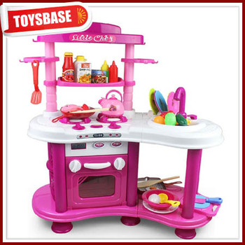 New Products For 2014 Baby Favourite Children Kitchen Set Toy