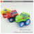 Plastic summer toys beach toys car truck sand bucket set 11pcs