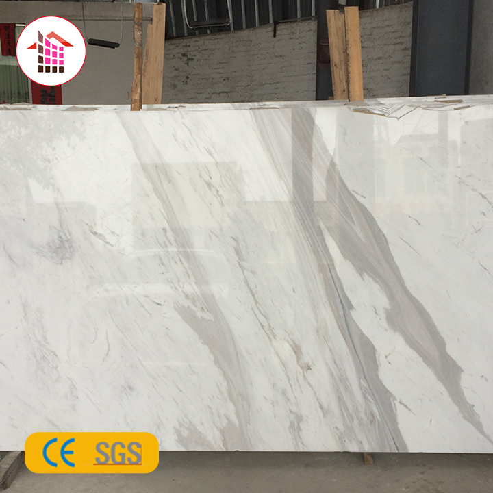 Custom Cut Indian White Round Marble Slab Table Top