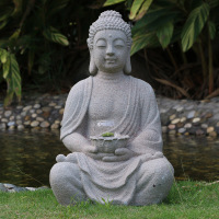 Garden Decoration Anti-White Buddha Statue