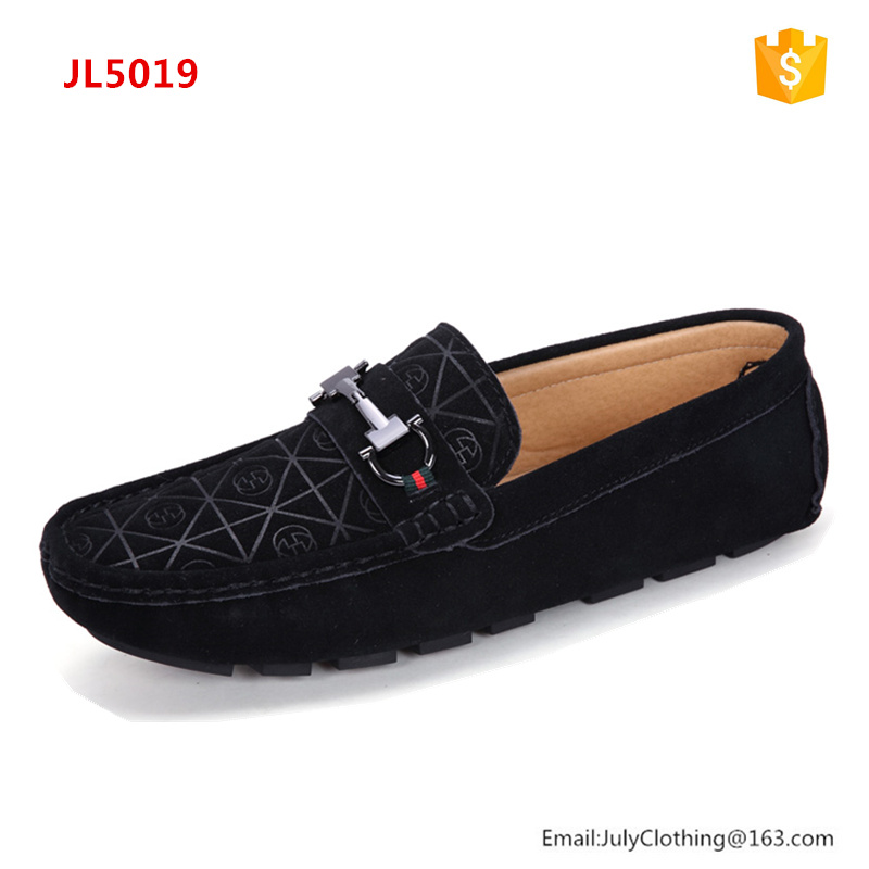 2017 Summer Brand Name Men Casual Genuine Leather Suede Driving Loafer Shoes