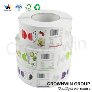 Adhesive Private Printing Barcode Label