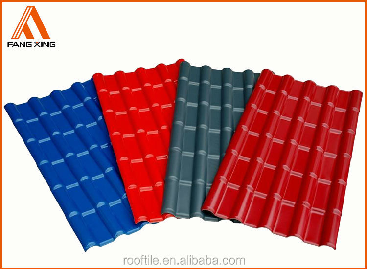 Elegant Trustworthy China Supplier PVC Roofing Tile/Royal Type/720/plastic Roofing