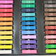 36 Piece Temporary Color Hair Chalk In Gift Tin Ready For Gift Giving(chalk pastels hair)