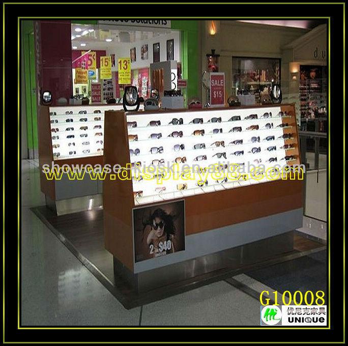 4ab3f7e7749e Wooden Sunglass Display Case Sunglass Showcase Kiosk Design - Buy ...
