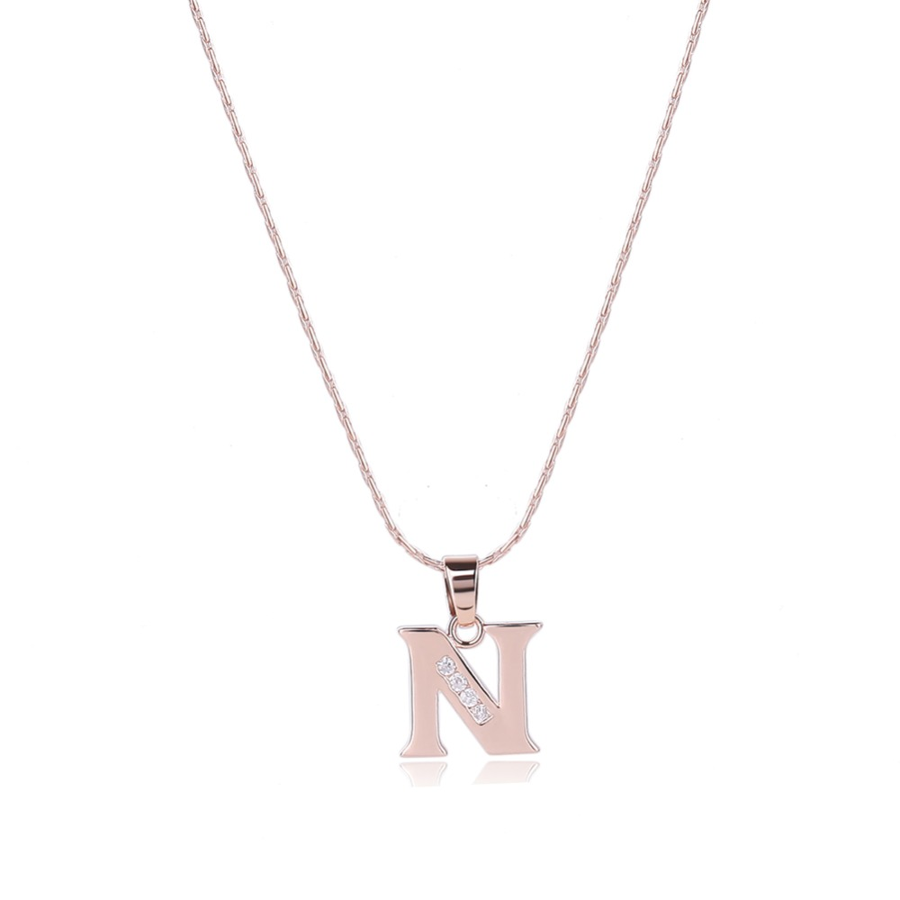 2017 jwelleries necklace jewelry letter n pendant necklace nepal necklace jewelry