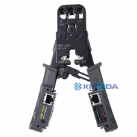 Network Cable Stripper Crimp Tool Tester LAN Ethernet RJ45/RJ11/RJ9 6P DEC 4P 8P Crimping Pliers Removable Cutting Pliers