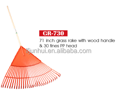 heavy duty leaf rake with long handle