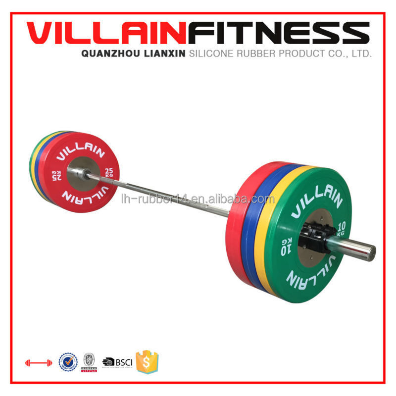 Gym Equipment Bumper Plates/Weight lifting Plates