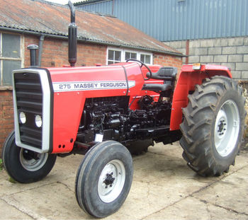 Reconditioned Massey Ferguson 275 Agricultural Tractor