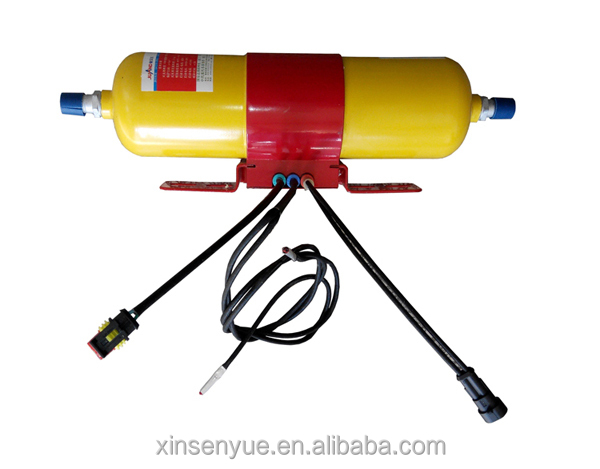 High Perfomance Vehicle small engine fire extinguisher system