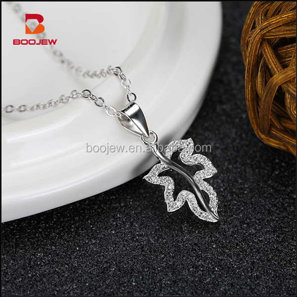 women charm jewelry with machine make chain meaningful silver pendant necklace
