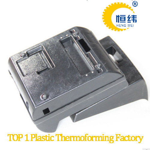 Custom HIPS /ABS vacuum forming plastic thick car parts, adjustable box in the middle of the car seat