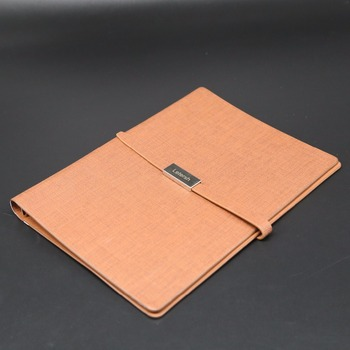 Recycled durable a5 leather cover refill paper journal