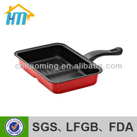deep frying pan with lid