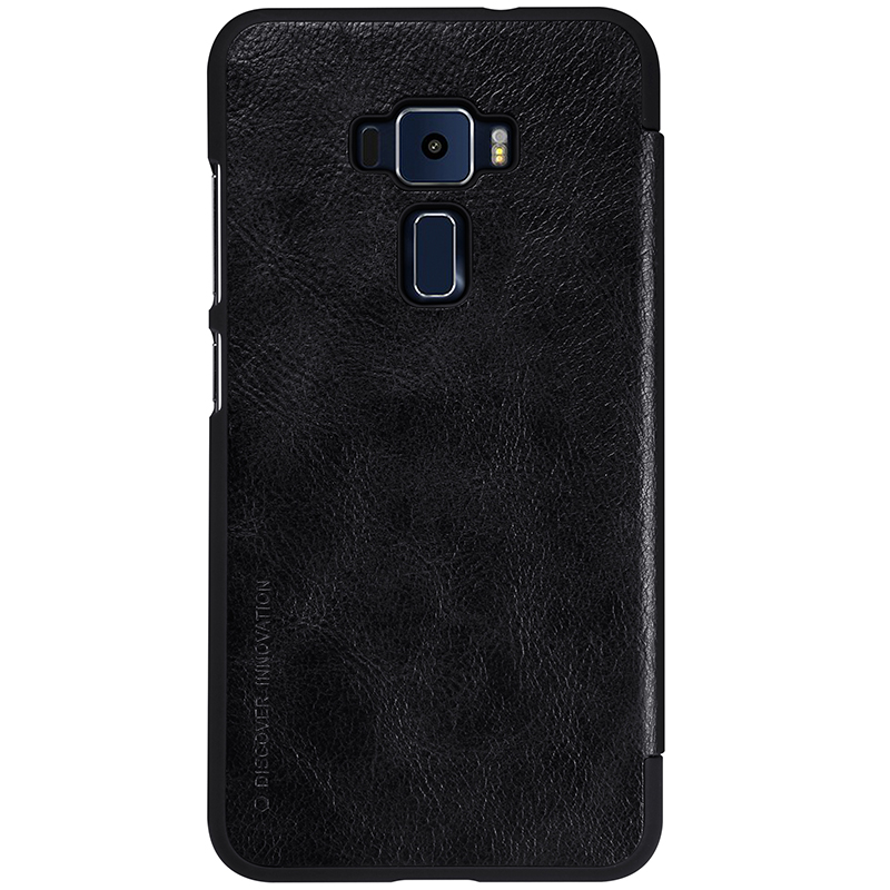 Nillkin High Quality Classic flip Leather Cover Case Qin Series phone bag for Asus Zenfone 3 Deluxe/ZE552KL