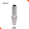 Stainless Steel 304 Hydraulic Quick Release Coupling Hose Connector SS304
