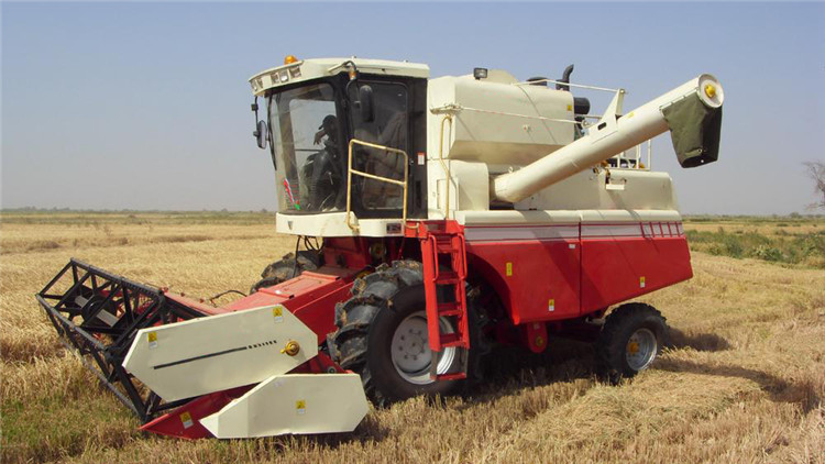 Reliable Quality Rice Combine Harvester Combine Harvester For Sale ...
