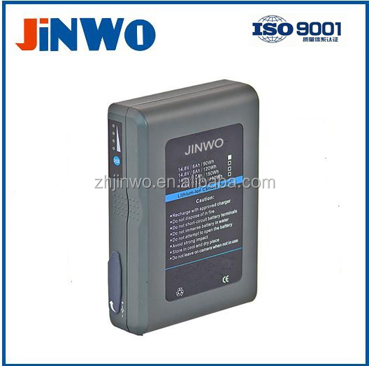 Broadcast Camera Battery Gold Mount Broadcast Battery 95WH 14.8V 6600mAh Broadcasting Video Camera Battery Camcorder Broadcast