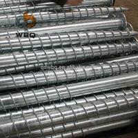 Galvanized Ground Screws Pile for Solar Mounting System