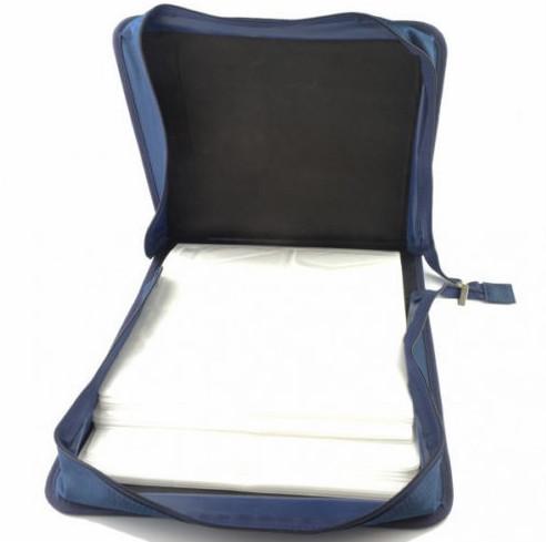 3e66761e8775 Горловина сумки на молнии диск для хранения 240 CD/DVD синий чехол для  смартфона с