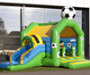 Cheap inflatable sports combo slide bouncer inflatable soccer bounce house