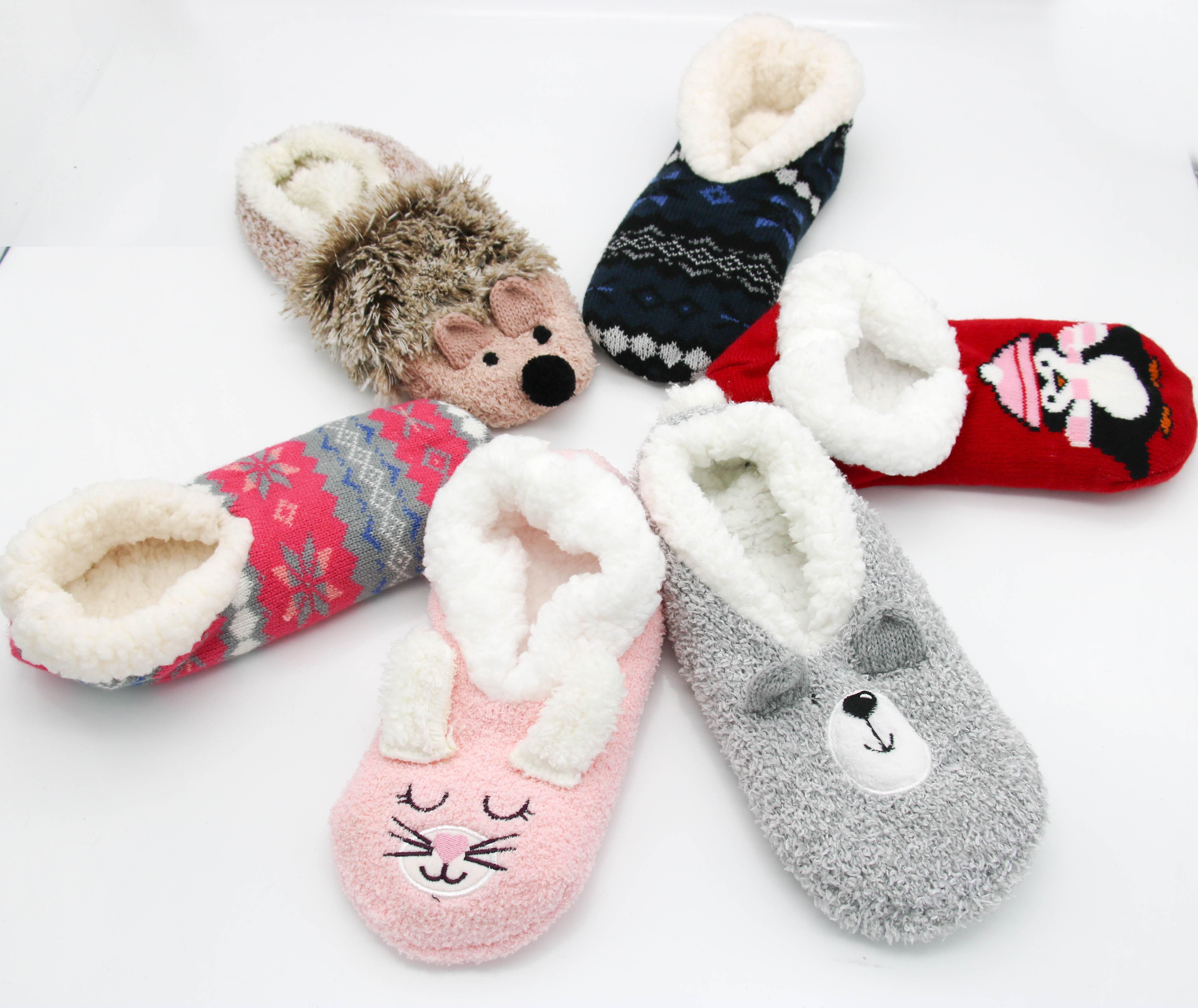 оптовая продажа вязаные тапочки и носки купить лучшие вязаные