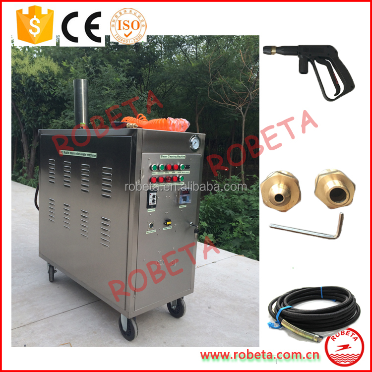 commercial portable electric steam cleaner/ self car wash machine