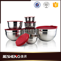 the unique heat resistant stainless steel mixing bowl set