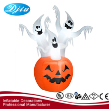 Halloween decoration Inflatable pumpkin ghost three brothers