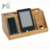 Convenient wooden Mobile Phone Charging holder bamboo docking Station