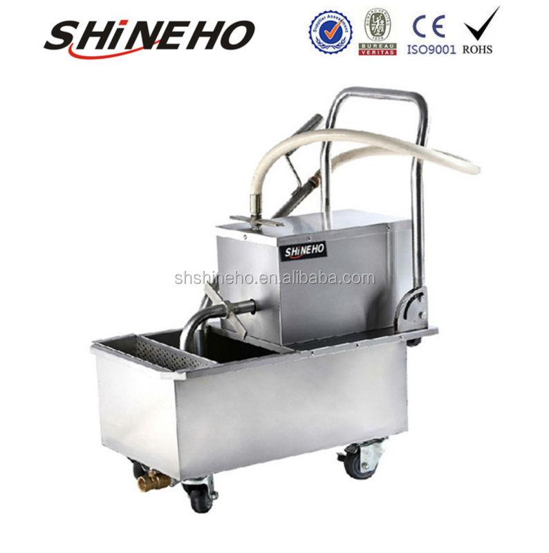 Machines de filtrage huile de friture filtration for Equipement resto plus