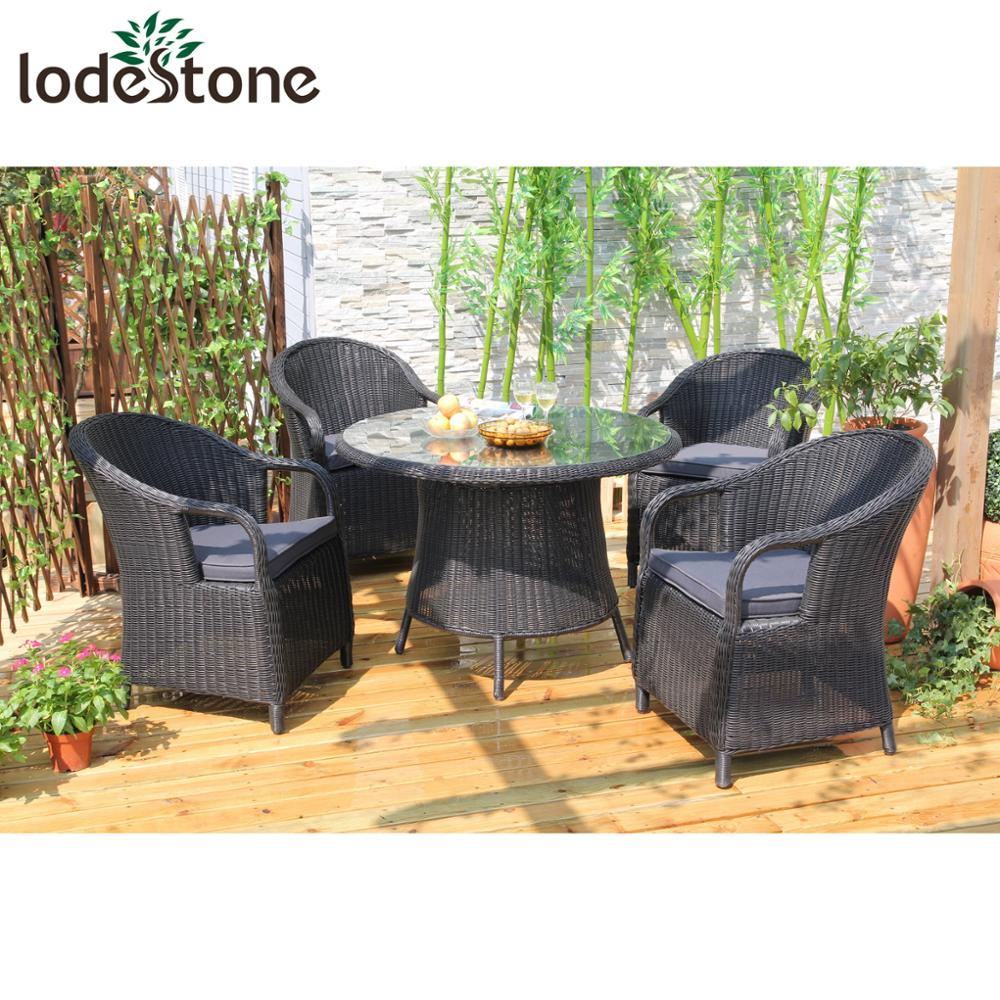 3mm round rattan dining table set aluminium garden chairs big lots outdoor furniture