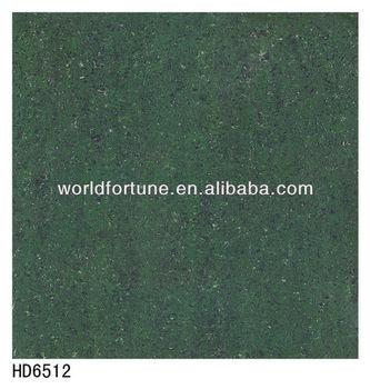 Design Dark Green Color Porcelain Tile
