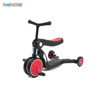 multi function 5 in 1scooter plastic kids toy baby tricycle bicycle