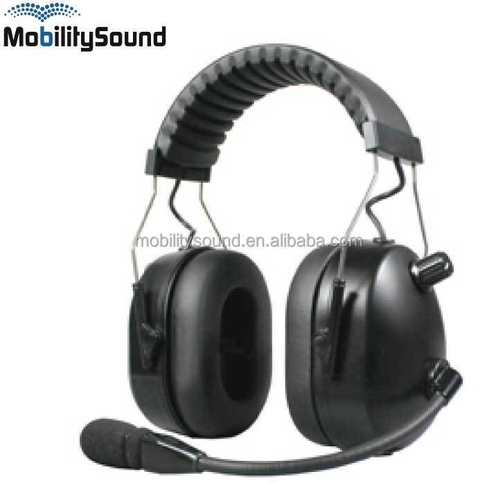 Two way radio head band hearing protection headset for Motorola for CP040 CP200 CP140 DEP450 EP450 DP1400 GP300 GP320 GP2000