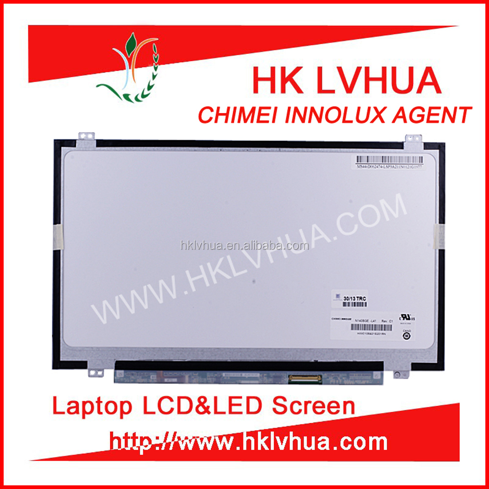 LP140WH2 TL TA N140BGE-L41 N140BGE-LB1 cheap second hand laptop 14.0 lcd screens for ASUS ACER monitor parts