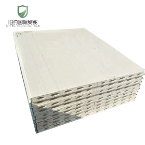 High strength and quality insulation MGSO4 sandwich sip panel price for clean room wall and floor