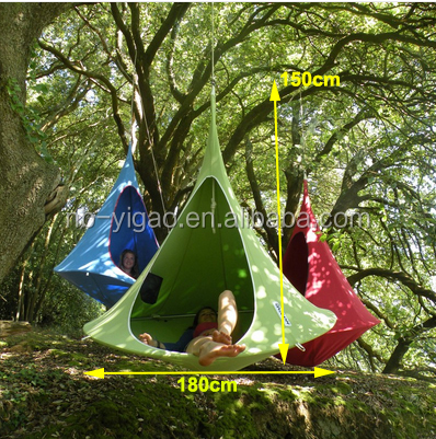 New Hanging pod 2 person Hammock c&ing tents hanging tent hanging chair & New Hanging Pod 2 Person Hammock Camping Tents Hanging Tent ...