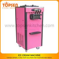 3Nozzles Small Soft Ice Cream Healthy Ice Cream Machine